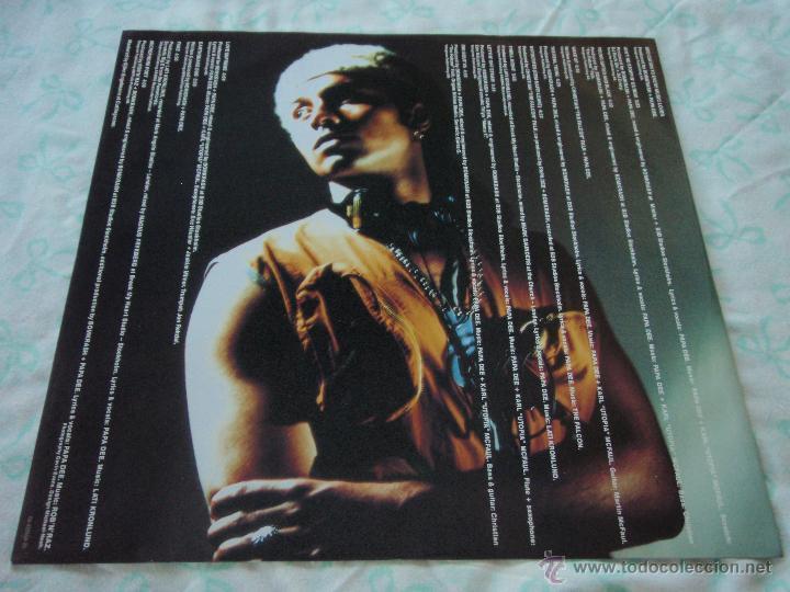 Discos de vinilo: PAPA DEE ( LETTIN OFF STEAM ) 1990 - HOLANDA LP33 - Foto 3 - 44791713