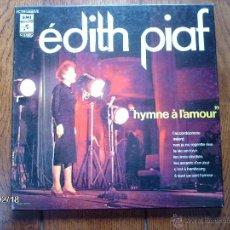 Discos de vinilo: EDITH PIAF - HYMNE A L´AMOUR - BOX DE 3LPS - . Lote 44800957