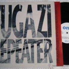 Discos de vinilo: FUGAZI - '' REPEATER '' LP + INNER ORIGINAL FRANCE 1990. Lote 44801921
