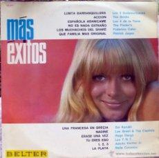Discos de vinilo: VVAA. MÁS ÉXITOS. BELTER, ESP. 1966 LP. Lote 44803087