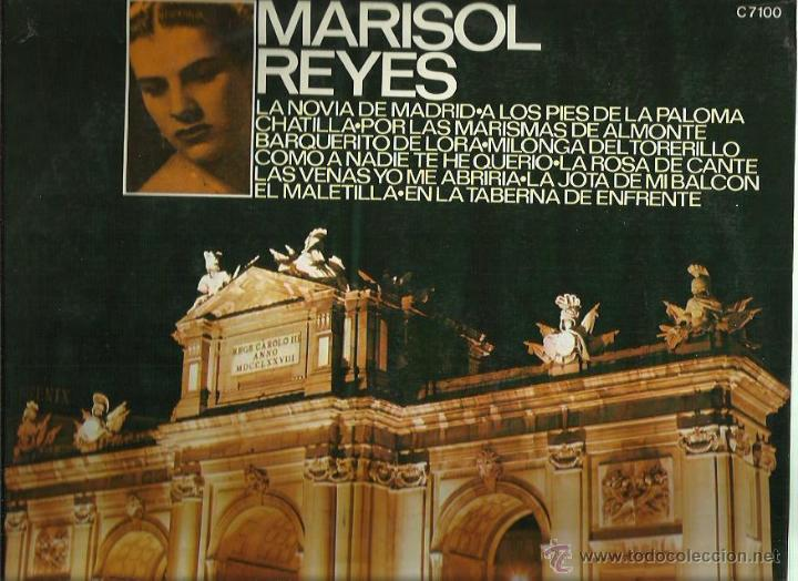 MARISOL REYES LP SELLO COLUMBIA AÑO 1971 (Música - Discos - LP Vinilo - Flamenco, Canción española y Cuplé)