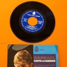 Discos de vinilo: RAPHAEL - CANTA LA NAVIDAD - HISPA VOX -. Lote 44804179