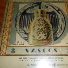 Discos de vinilo: LOS CINCO BILBAINOS.- ASI ERES VASCONIA MIA / NIÑAS BONITAS / JOTAS VASCAS +1, EP 50'S. Lote 44806733