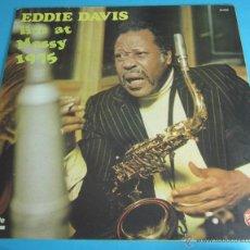 Discos de vinilo: EDDIE DAVIS. LIVE AT MASSY 1975. Lote 44806822