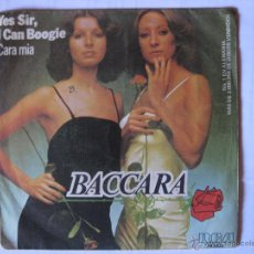 Discos de vinilo: BACCARA - YES SIR, I CAN BOOGIE AÑO 1977. Lote 44811390