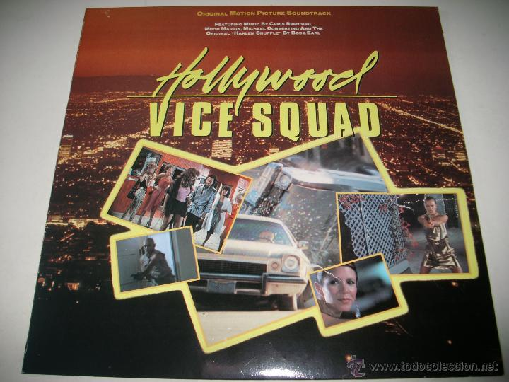 Discos de vinilo: HOLLYWOOD VICE SQUAD (1986 ENIGMA ESPAÑA) CHRIS SPEDDING BOB & EARL MOON MARTIN - Foto 1 - 44815614