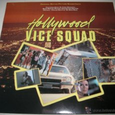 Discos de vinilo: HOLLYWOOD VICE SQUAD (1986 ENIGMA ESPAÑA) CHRIS SPEDDING BOB & EARL MOON MARTIN . Lote 44815614