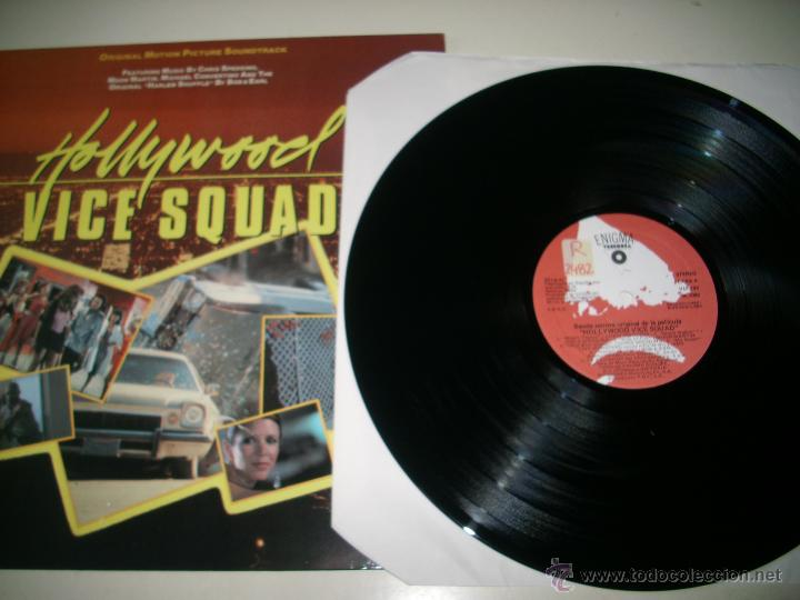 Discos de vinilo: HOLLYWOOD VICE SQUAD (1986 ENIGMA ESPAÑA) CHRIS SPEDDING BOB & EARL MOON MARTIN - Foto 3 - 44815614