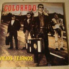 Discos de vinilo: DISCO SINGLE COLORADO, VIEJOS TEJANOS LOT15. Lote 44817457
