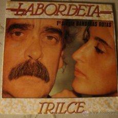Discos de vinilo: DISCO SINGLE RARO, LABORDETA TRILCE LOT15. Lote 44817482