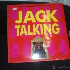 Discos de vinilo: JACK TALKING-DAVE STEWART AND THE SPIRITUAL COWBOYS. Lote 44818122