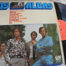 Discos de vinilo: LOS ALBAS -LP 1976 -BUEN ESTADO. Lote 44818694