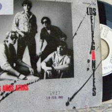 Discos de vinilo: LOS ELEGANTES -DOS AÑOS ATRAS -SINGLE PROMO 1985 . Lote 44818909
