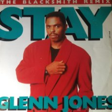 Discos de vinilo: GLENN JONES - STAY . MAXI SINGLE . 1990 . JIVE UK - JIVE T 247 . Lote 44824460