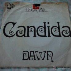 Discos de vinilo: DAWN ( CANDIDA - LOOK AT ... ) NEW YORK-USA 1970 SINGLE45 BELL RECORDS. Lote 44827097