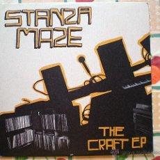 Discos de vinilo: STANZA MAZE: THE CRAFT EP (FORMATO: ÁLBUM LP VINILO) STANZA MAZE, 2002 (HIP HOP). Lote 44830167