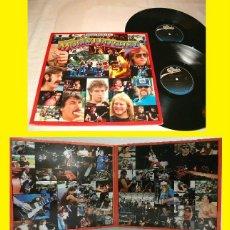 Discos de vinilo: MOLLY HATCHET / DOUBLE TROUBLE LIVE - DOBLE LP, RARA EDIC ORG PROMO + ENCARTE 4 HOJAS..SUREÑO !!! ... Lote 44837097