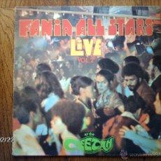 Discos de vinilo: FANIA ALL STAR - LIVE VOL 2 - AT THE CHEETAH . Lote 44854098