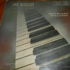 Discos de vinilo: JAN AUGUST, VALSES SOBRE EL TECLADO , EP 50'S. Lote 44857283