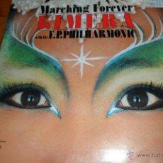 Discos de vinilo: KIMERA, MARCHING FOREVER / OLYMPERA, 1987. Lote 44857438