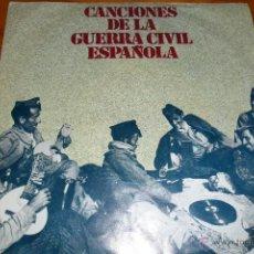 Discos de vinilo: CANCIONES DE LA GUERRA CIVIL , EP 1978. Lote 44857568