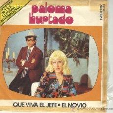 Discos de vinilo: PALOMA HURTADO LUIS AGUILE TVE TV SG BELTER 1974 BIZARRO FREAK RARO. Lote 44866204