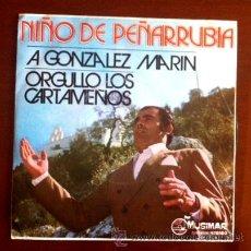 Discos de vinilo: NIÑO DE PEÑARRUBIA - A GONZÁLEZ MARÍN - 1973. Lote 44871685