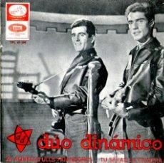 Discos de vinilo: DÚO DINÁMICO - AQUELLS ULLS TAN NEGRES. Lote 44872081