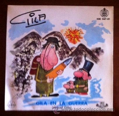 GILA EN LA GUERRA - GILA VIOLINISTA - 1959 (Música - Discos - Singles Vinilo - Bandas Sonoras y Actores)