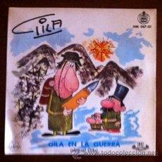 Discos de vinilo: GILA EN LA GUERRA - GILA VIOLINISTA - 1959. Lote 44873693