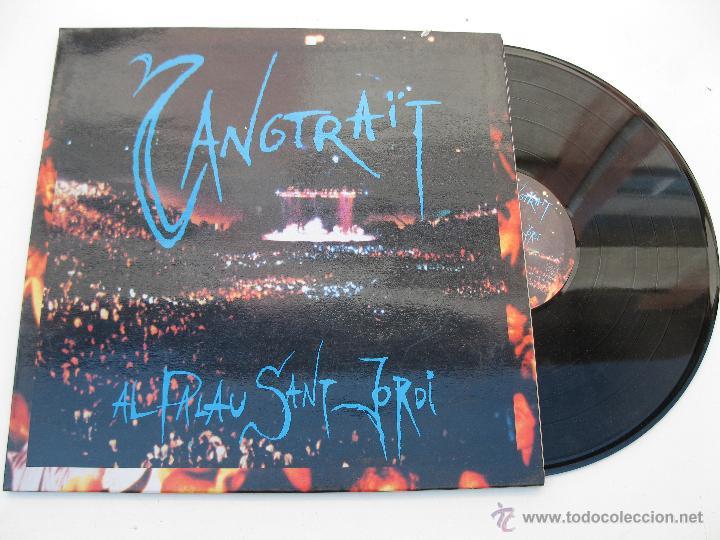LP - SANGTRAÏT - AL PALAU SANT JORDI - PICAP - AÑO 1992. (Música - Discos - LP Vinilo - Grupos Españoles de los 90 a la actualidad)