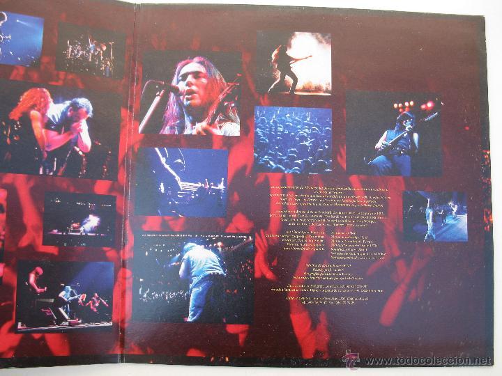 Discos de vinilo: LP - SANGTRAÏT - AL PALAU SANT JORDI - PICAP - AÑO 1992. - Foto 3 - 44884595