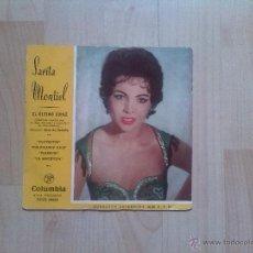 Discos de vinilo: SARA MONTIEL - EL ULTIMO CUPLE. Lote 44887341