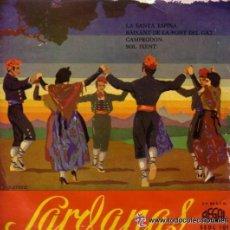 Discos de vinilo: COBLA LA PRINCIPAL DE LA BISBAL - EP REGAL SEDL 101 - AÑO 19561 . Lote 44894777