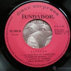 Discos de vinilo: EP FUNDADOR /ALFREDO /VER FOTO ADICIONAL. Lote 44897819