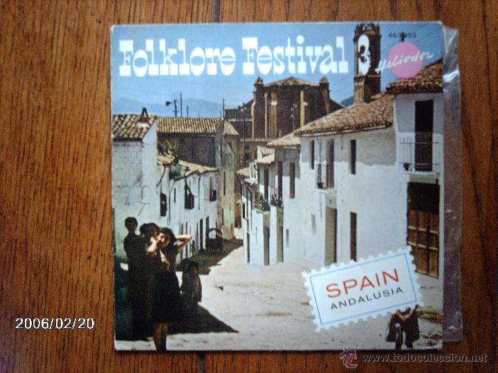 FOLKLORE FESTIVAL 3 - SPAIN - ANDALUSIA - (Música - Discos de Vinilo - EPs - Étnicas y Músicas del Mundo)