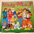 Discos de vinilo: DISCO DE VINILO. LP. BABY MIX 3. POPPLES, LOS OSOS AMOROSOS, ERASE UNA VEZ LA VIDA.... Lote 44902452