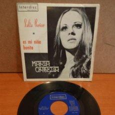 Discos de vinilo: MARÍA ORTEGA. SALTA PERICO. SINGLE / INTERDISC - 1973. CARTA PRESENTACIÓN. MUY BUENA CALIDAD.. Lote 44903658