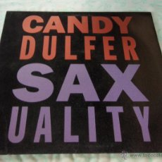 Discos de vinilo: CANDY DULFER ( SAXUALITY 2 VERSIONES - HOME IS NOT A HOUSE ) 1990-GERMANI MAXI45 ARIOLA. Lote 44906499