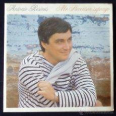 Discos de vinilo: ANTONIO RESINES, MR. STEVENSON, SUPONGO (FONOMUSIC 1985) SINGLE - CUENTOS COSAS Y MENOS. Lote 44911634