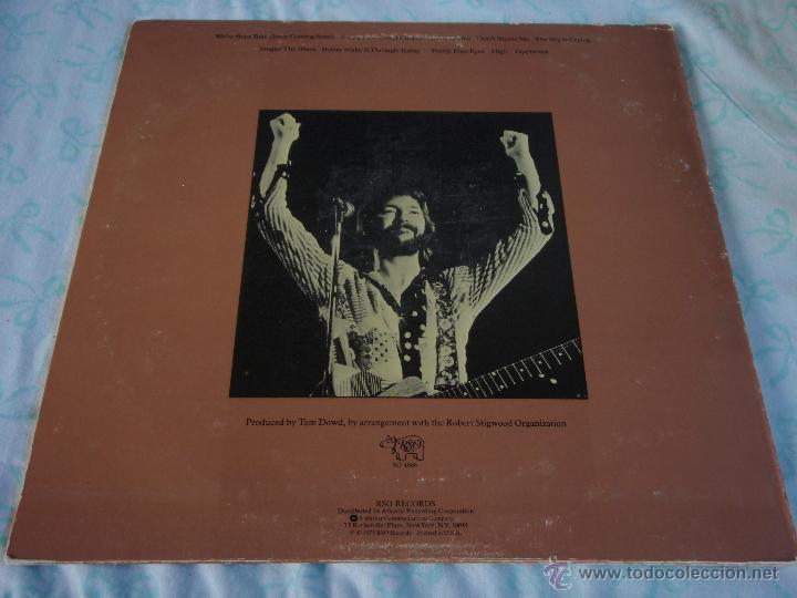 Discos de vinilo: ERIC CLAPTON ( THERE'S ONE IN EVERY CROWD ) NEW YORK-USA 1975 LP33 RSO - Foto 2 - 44911766