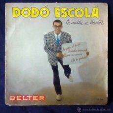 Discos de vinilo: DODO ESCOLA LE INVITA A BAILAR, ME GUSTA EL ROCK +3 (BELTER 1960) SINGLE EP. Lote 44912403