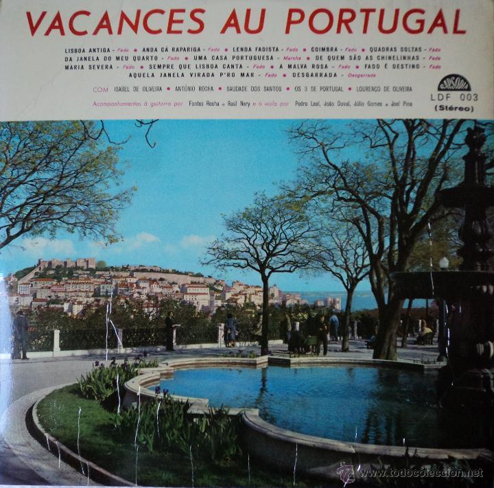 vacances au portugal 3 fotos VACANCES AU PORTUGAL - VARIOS PORTUGUESES - EDICIÓN DE PORTUGAL  (Música - Discos - LP ...