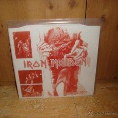 Discos de vinilo: IRON MAIDEN ROSKILDE 2003 LP VINILO ROJO. Lote 44932197