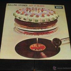 Discos de vinilo: ROLLING STONES LP LET IT BLEED ORIGINAL ESPAÑOL 1ª EDICION. Lote 44936065