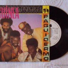 Discos de vinilo: GUINEA, PAQUIDERMO (CBS 1982) SINGLE PROMOCIONAL DE 1 CARA. Lote 44940958