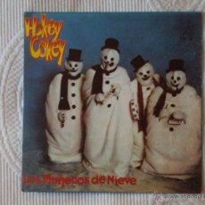 Discos de vinilo: MUÑECOS DE NIEVE, LOS - HOKEY COKEY (VICTORIA 1981) SINGLE PROMOCIONAL. Lote 44941319