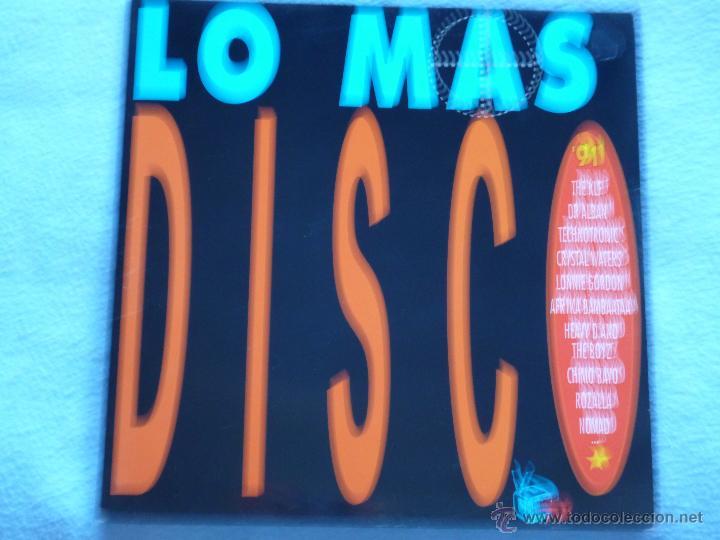 LO MAS DISCOS 91(CHIMO BAYO,ROZALLA Y OTROS) DEL 91 2 LP (Música - Discos - LP Vinilo - Disco y Dance)