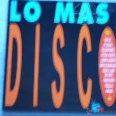 Discos de vinilo: LO MAS DISCOS 91(CHIMO BAYO,ROZALLA Y OTROS) DEL 91 2 LP. Lote 246324930