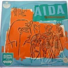 Discos de vinilo: GIUSEPPE VERDI – AIDA - QUERSCHNITT - DECCA – LW 5182 VINILO 10'', MP EDICION ALEMANA EX/VG+. Lote 44947712